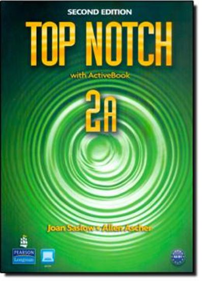 Picture of TOP NOTCH 2A SB/WB  WITH ACTIVEBOOK CD-ROM - 2ND ED