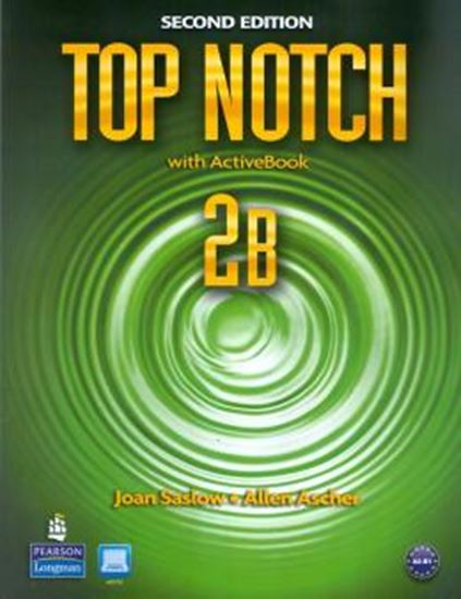 Picture of TOP NOTCH 2B SB/WB W/ACTBK CD-ROM - 2ND EDITION
