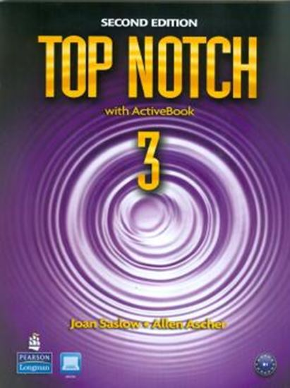 Picture of TOP NOTCH 3 SB WITH ACT BK CD-ROM - 2ND ED