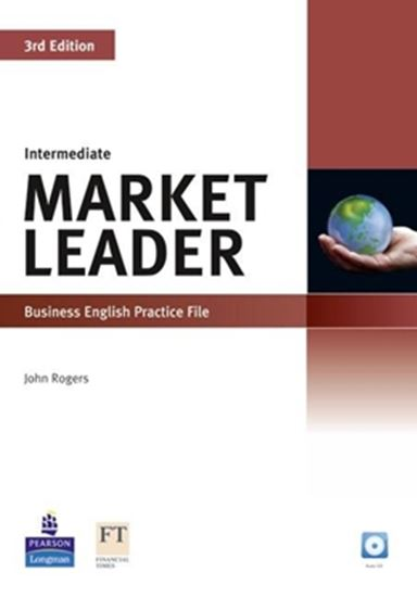 Picture of MARKET LEADER INTERMEDIATE PRACTICE FILE WITH AUDIO CD - 3RD ED