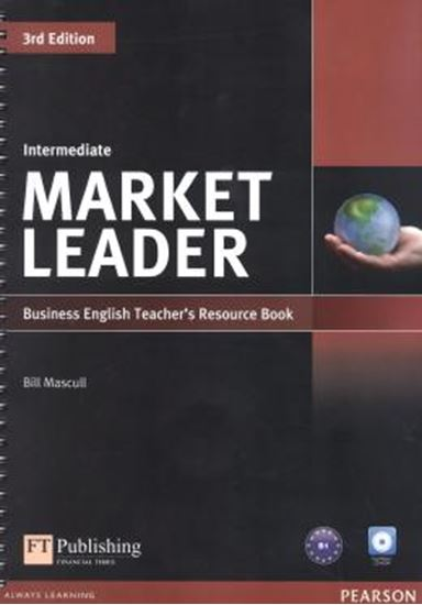 Picture of MARKET LEADER INTERMEDIATE TEACHERS RESOURCE BOOK (WITH TEST MASTER CD-ROM) - 3RD ED