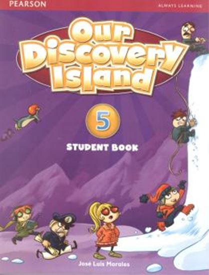 Picture of OUR DISCOVERY ISLAND 5 SB/WB/ONLINE ACCESS CODE - WITH MULTIROM