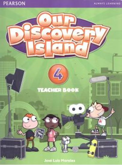 Picture of OUR DISCOVERY ISLAND 4 - TB ENGLISH (TB+ WB+ONLINE ACCESS CODE+MULTIROM)