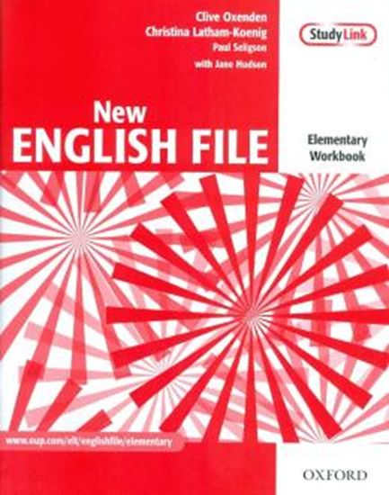 Picture of NEW ENGLISH FILE ELEMENTARY WB WITH MULTIROM PACK