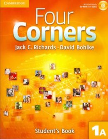 Picture of FOUR CORNERS LEVEL 1 STUDENT´S BOOK A WITH SELF-STUDY CD-ROM