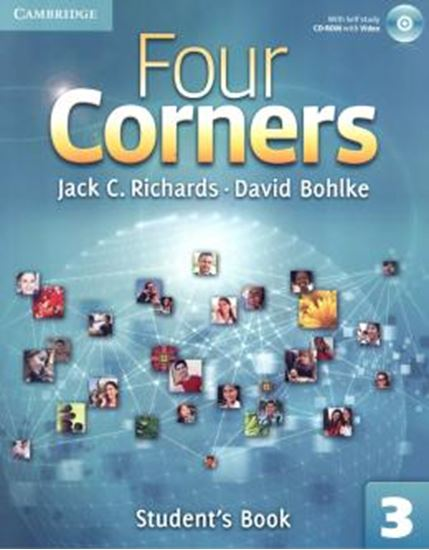 Picture of FOUR CORNERS LEVEL 3 STUDENT´S BOOK WITH SELF-STUDY CD-ROM