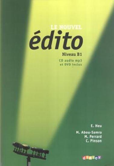 Picture of LE NOUVEL EDITO B1  - LIVRE AVEC 1 DVD ET CD AUDIO