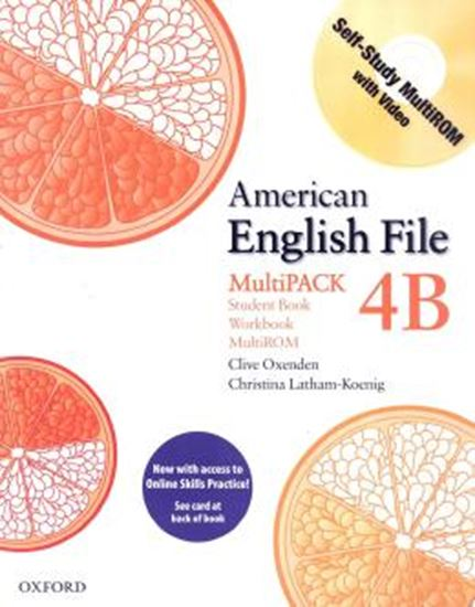 Picture of AMERICAN ENGLISH FILE 4B MULTIPACK - WITH ACCESS TO ONLINE SKILLS