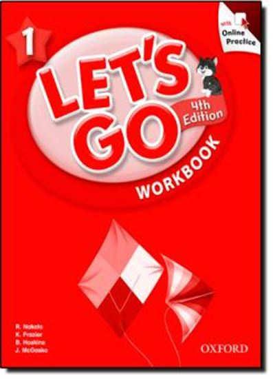 Picture of LETS GO 1 WORKBOOK WITH ONLINE PRACTICE PACK - FOURTH EDITION