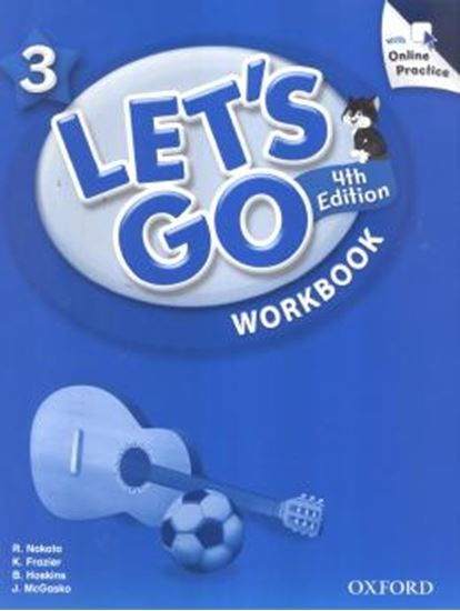 Picture of LETS GO 3 WORKBOOK WITH ONLINE PRACTICE PACK - FOURTH EDITION