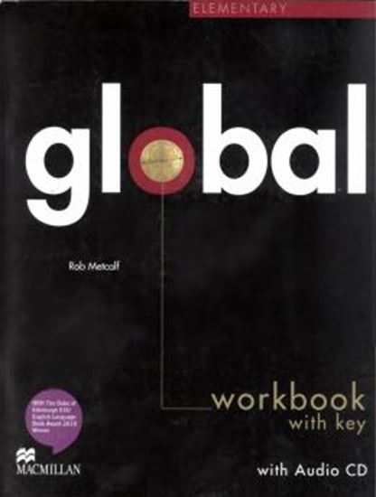 Picture of GLOBAL ELEMENTARY - WORKBOOK WITH KEY AND AUDIO CD