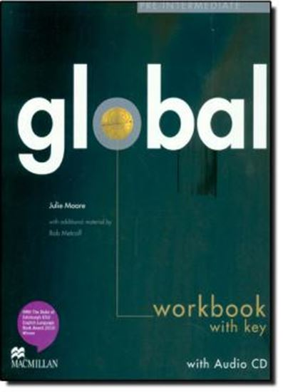 Picture of GLOBAL - PRE INTERMEDIATE - WORKBOOK WITH KEY AND AUDIO CD