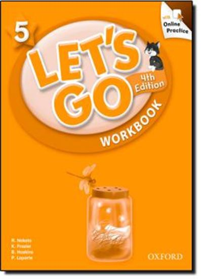 Picture of LETS GO 5 WORKBOOK WITH ONLINE PRACTICE PACK - FOURTH EDITION