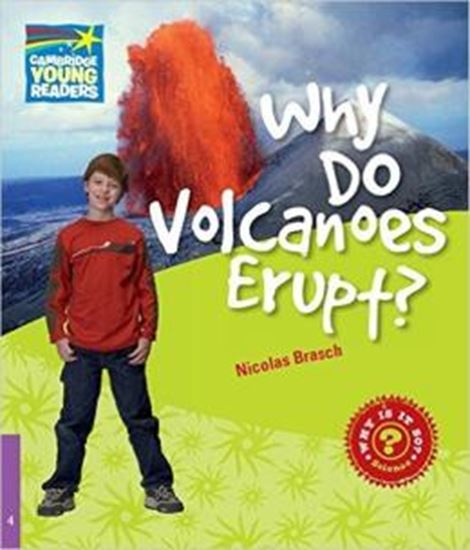 Picture of WHY DO VOLCANOES ERUPT? LEVEL 4 FACTBOOK