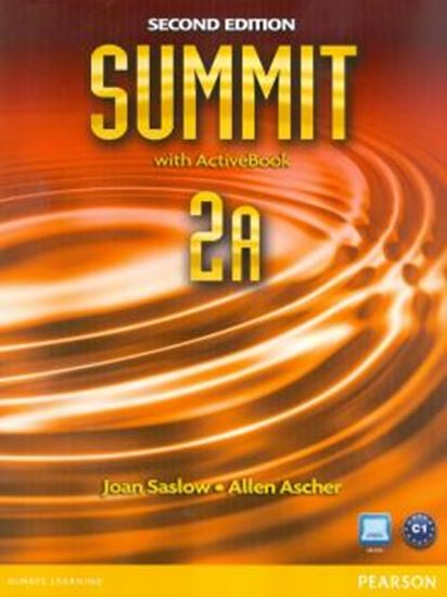 Picture of SUMMIT 2A STUDENT BOOK & WORKBOOK WITH ACTIVE BOOK  - SECOND EDITION