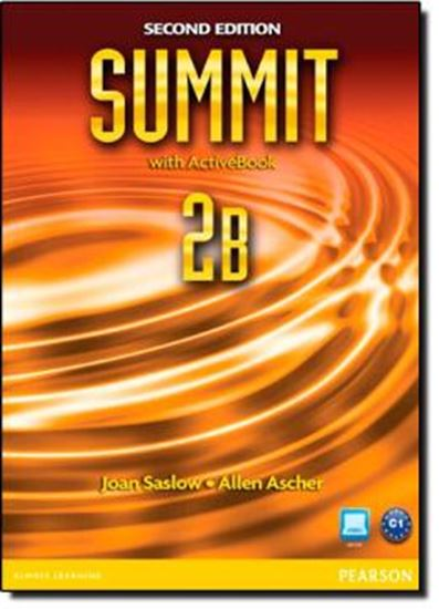 Picture of SUMMIT 2B STUDENT BOOK & WORKBOOK WITH ACTIVE BOOK - SECOND EDITION