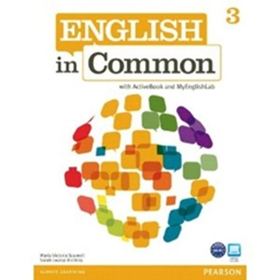 Picture of ENGLISH IN COMMON 3 STUDENTS BOOK WITH CD-ROM & MYLAB