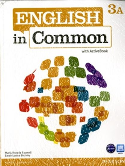 Picture of ENGLISH IN COMMON 3 SPLIT A W/ CD-ROM & MY LAB