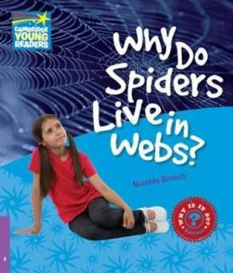 Picture of WHY DO SPIDERS LIVE IN WEBS? 4 - FACTBOOK