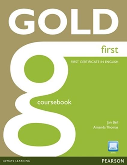 Picture of NEW GOLD FIRST COURSEBOOK WITH ACTIVE BOOK CD-ROM