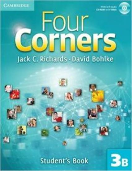 Picture of FOUR CORNERS 3B - STUDENTS BOOK WITH CD-ROM AND ONLINE WORKBOOK