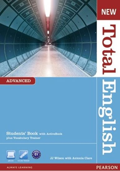 Picture of NEW TOTAL ENGLISH ADVANCED STUDENTS BOOK - WITH ACTIVE BOOK CD-ROM