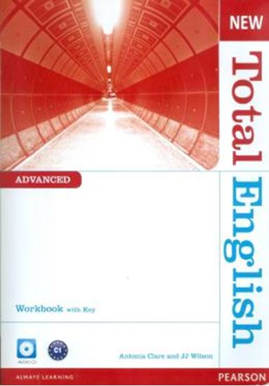 Picture of NEW TOTAL ENGLISH ADVANCED WORKBOOK - WITH KEY AND AUDIO CD