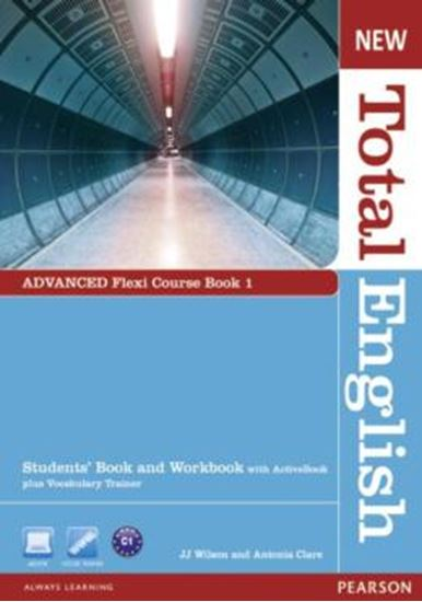 Picture of NEW TOTAL ENGLISH ADVANCED FLEXI COURSE BOOK 1