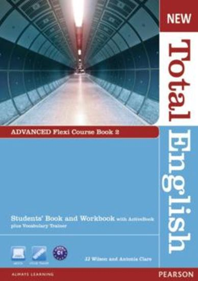 Picture of NEW TOTAL ENGLISH ADVANCED FLEXI COURSE BOOK 2