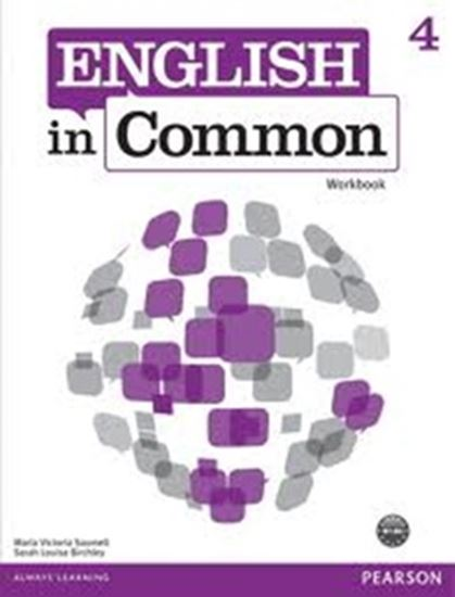 Picture of ENGLISH IN COMMON 4 - WORKBOOK