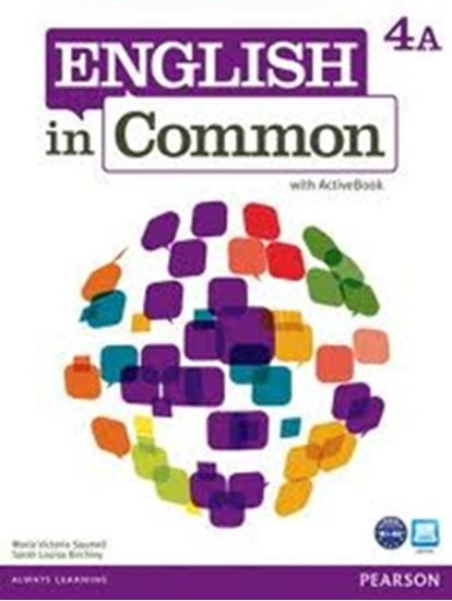 Picture of ENGLISH IN COMMON 4A SPLIT - STUDENT BOOK WITH ACTIVEBOOK AND WORKBOOK