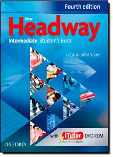Picture of NEW HEADWAY INTERMEDIATE STUDENTS BOOK WITH ITUTOR DVD-ROM - FOURTH EDITION
