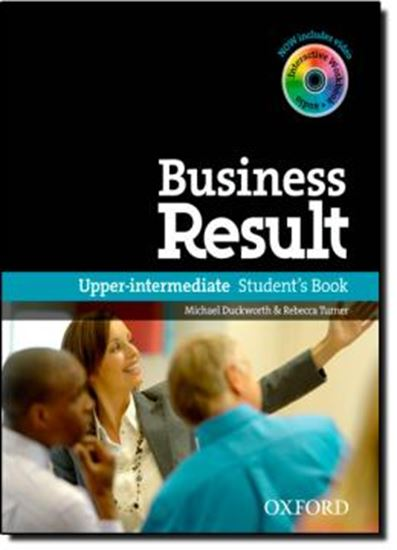 Picture of BUSINESS RESULT- UPPER INTERMEDIATE STUDENT S BOOK WITH DVD-ROM