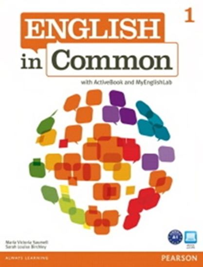 Picture of ENGLISH IN COMMON 1 - WITH ACTIVEBOOK AND MYENGLISHLAB