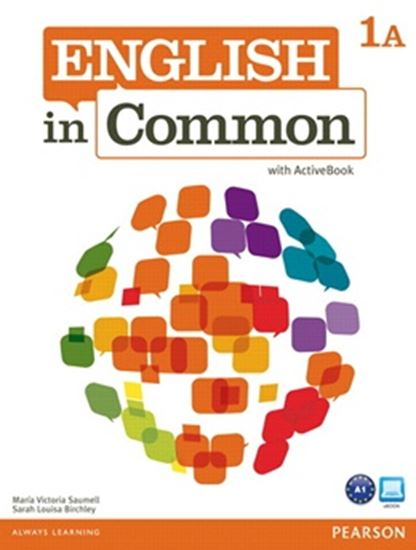 Picture of ENGLISH IN COMMON 1A SPLIT - STUDENT BOOK AND WORKBOOK WITH ACTIVEBOOK