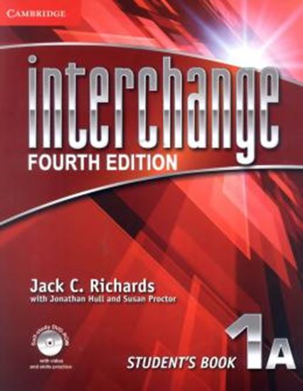 Picture of INTERCHANGE 1 STUDENTS BOOK A WITH DVD-ROM - FOURTH EDITION