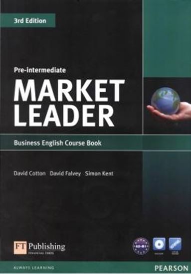Picture of MARKET LEADER PRE-INTERMEDIATE SB WITH DVD-ROM - 3RD ED