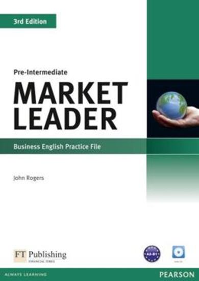 Picture of MARKET LEADER PRE-INTERMEDIATE PRACTICE FILE WITH AUDIO CD - 3RD ED