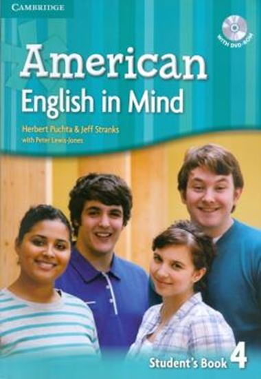 Picture of AMERICAN ENGLISH IN MIND 4 SB WITH DVD-ROM