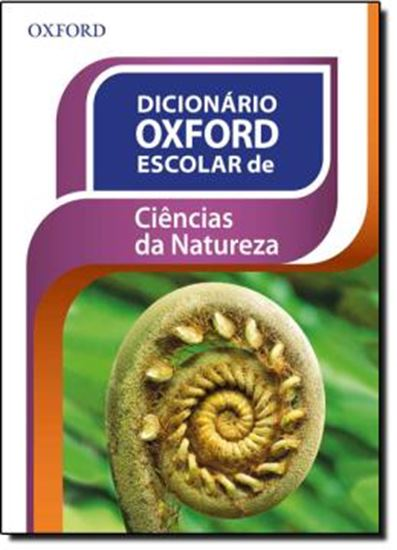 Picture of DICIONARIO OXFORD ESCOLAR DE CIENCIAS DA NATUREZA