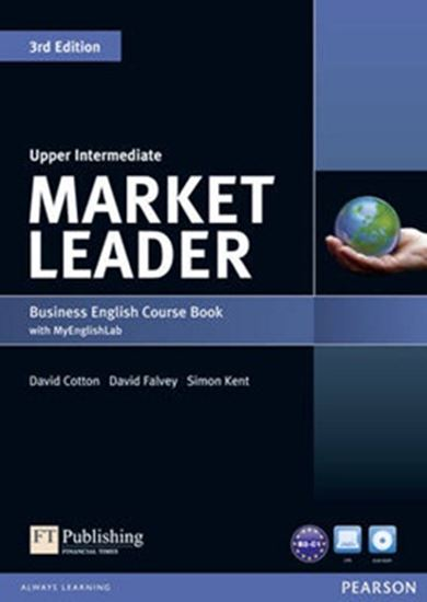 Picture of MARKET LEADER UPPER INTERMEDIATE SB W/ DVD-ROM & MEL 3RD EDITION
