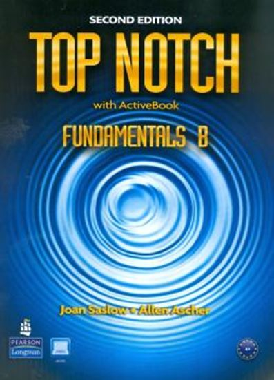 Picture of TOP NOTCH FUNDAMENTALS B SB ACTIVE BOOK WITH CD-ROM & MYLAB - 2ND ED