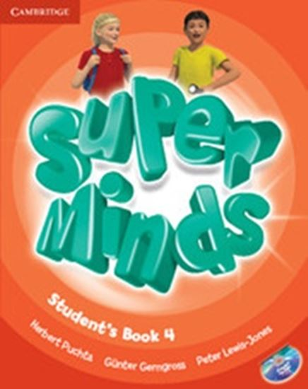 Picture of SUPER MINDS BRITISH 4 STUDENT S BOOK WITH DVD-ROM