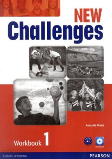 Picture of NEW CHALLENGES 1 WORKBOOK WITH AUDIO CD