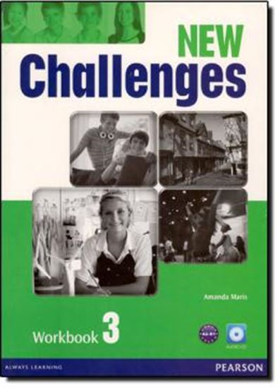 Picture of NEW CHALLENGES 3 WORKBOOK WITH AUDIO CD