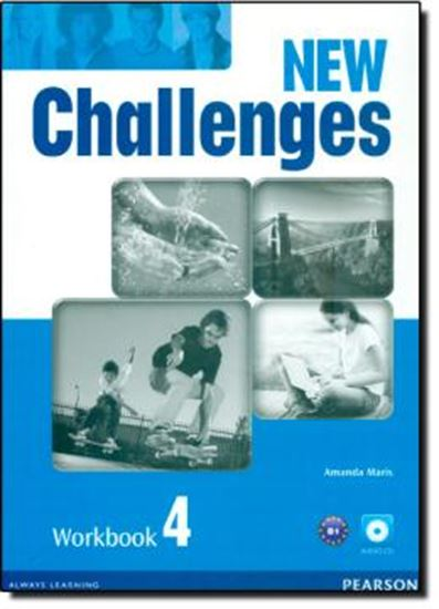 Picture of NEW CHALLENGES 4 WORKBOOK WITH AUDIO CD