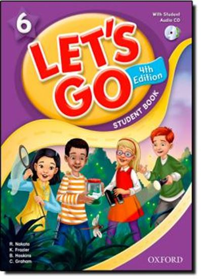 Picture of LETS GO 6 STUDENT BOOK WITH AUDIO CD PACK - FOURTH EDITION