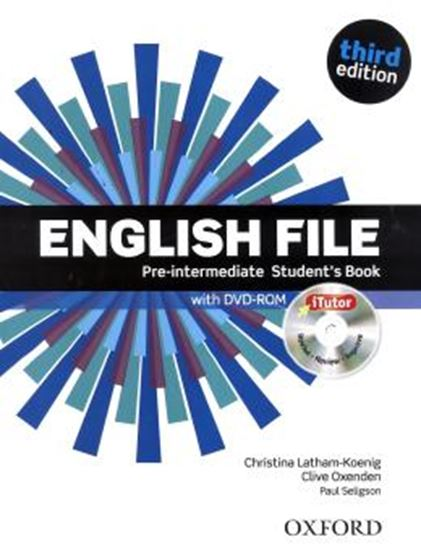 Picture of ENGLISH FILE PRE-INTERMEDIATE SB WITH ITUTOR - 3RD ED