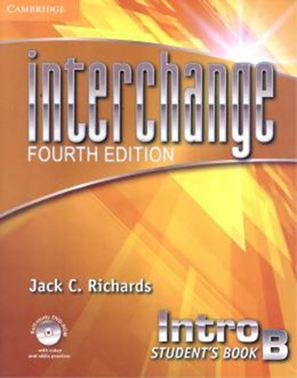 Picture of INTERCHANGE INTRO STUDENTS BOOK B WITH SELF-STUDY DVD-ROM - FOURTH EDITION