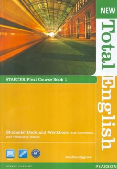 Picture of NEW TOTAL ENGLISH STARTER FLEXI COURSE BOOK 1 PACK CD
